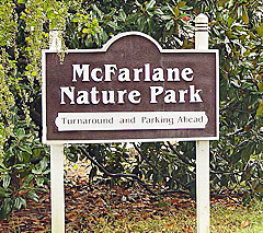 Welcome to McFarlane Nature Park